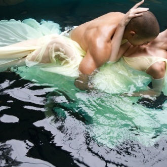 Under Water dress photography